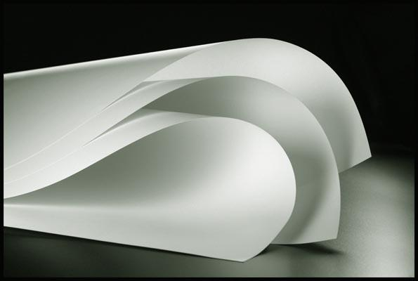 a commercial photograph of sheets of paper